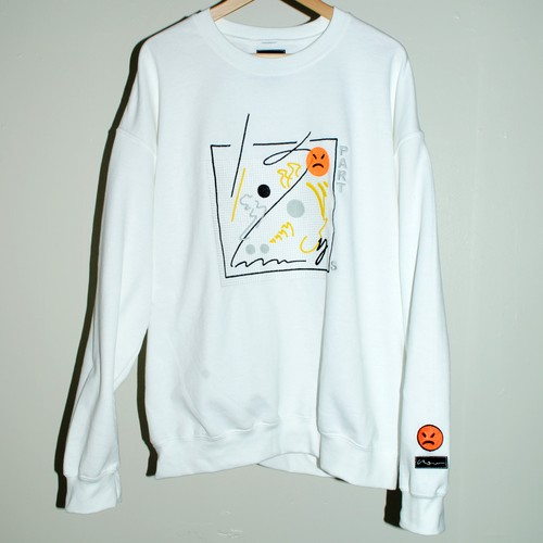 『SAU』 SOUND SEWING sweatshirt