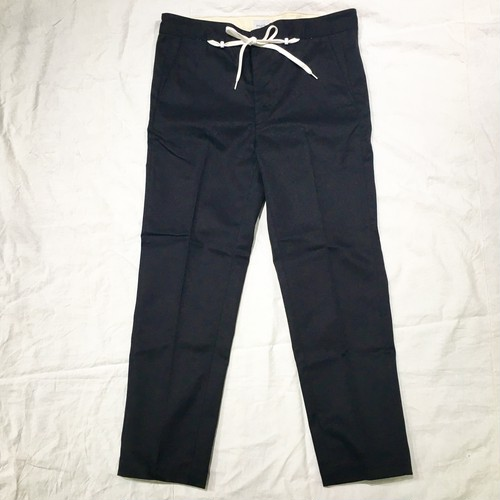 【EFILEVOL】Shoelace Belt Tapered Pants