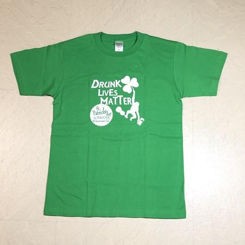 特価 Tシャツ セントパトリックス・デー Drunk Lives Mutter グリーン