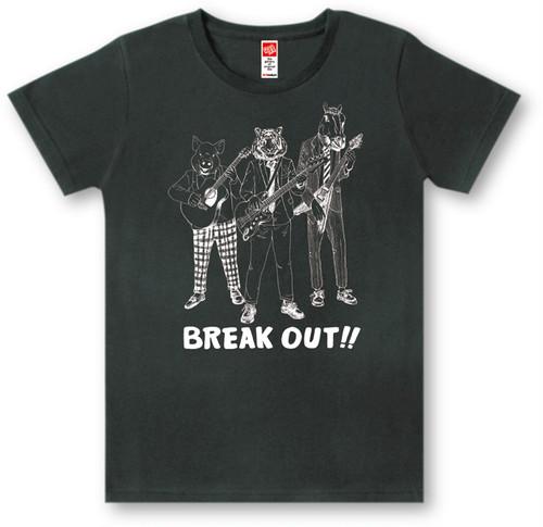 #446 Tシャツ BREAK OUT/BLK