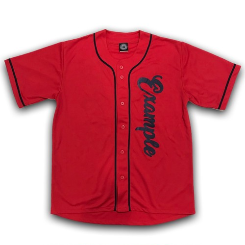 EXAMPLE GBY BASEBALL UNIFORM 4.4oz / RED