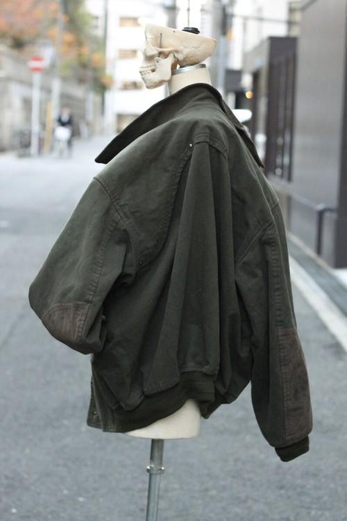 Christian Dior moleskin bomber jacket