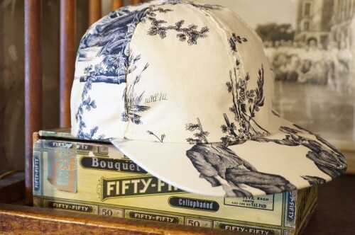 90's victorian garden printed Cap