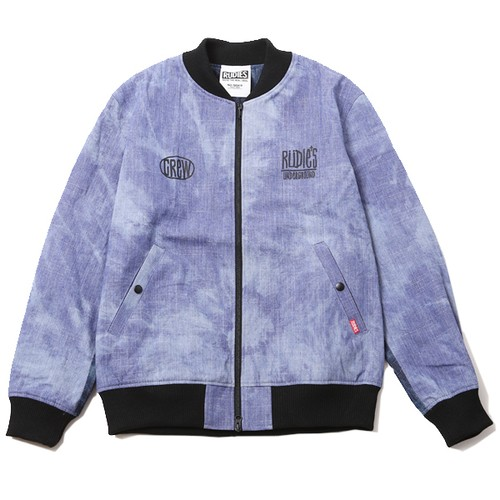 "RUDIE'S / ルーディーズ | 再入荷! "" DRAWING DENIM BLOUSON "" - LIGHT DENIM"