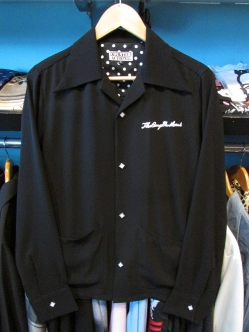 L / S シャツ THE GANG BUSKERS