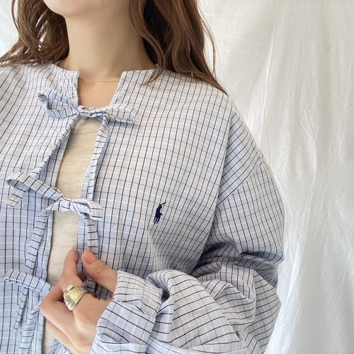 Ralph Laurenリメイクリボンシャツ (imy)