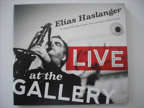 【CD】ELIAS HASLANGER / LIVE AT THE GALLERY