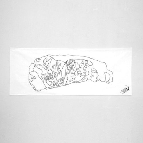 sirloin / 手拭い・ハンカチ /シルクプリント
