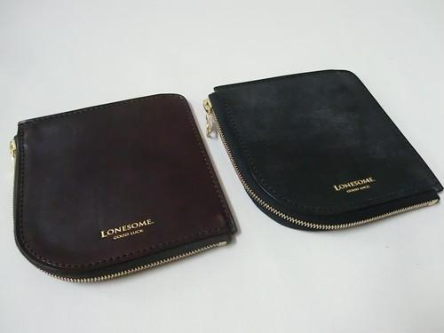 L zip short wallet-Uk bridle leather-