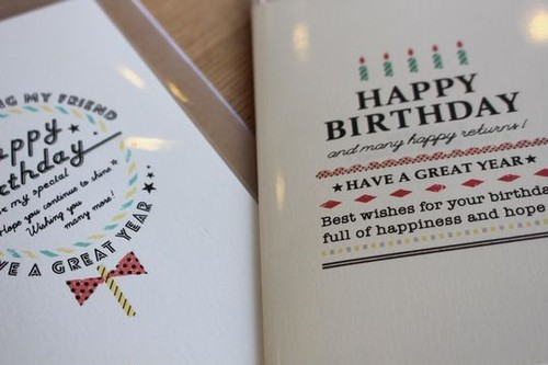 Greeting Card(Birthday)