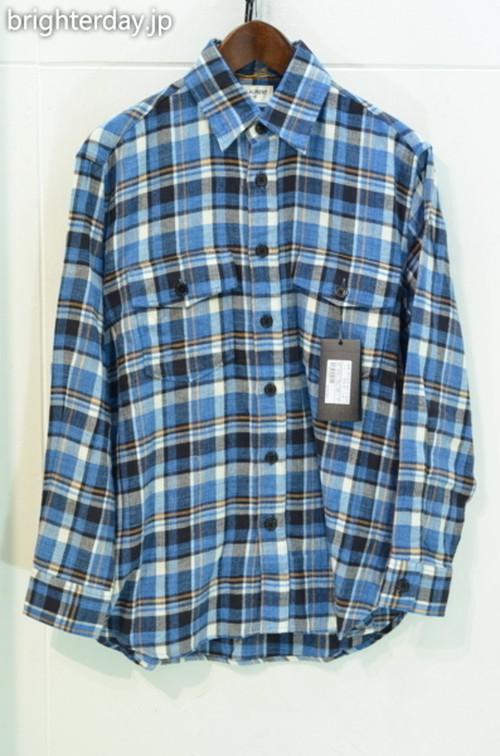 SAINT LAURENT PARIS チェックネルシャツ