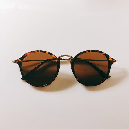Eyewear♡ボストン02 レオパード