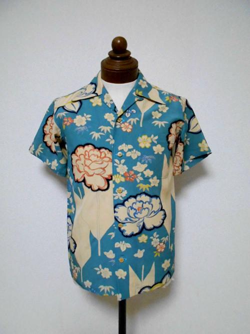 着物アロハシャツ Kimono Aloha Shirt AL-607/S