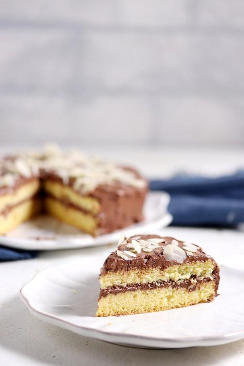 低糖質モカケーキ(18cm・ホール)Keto Mocha Cake