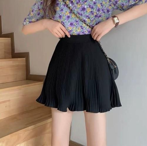 tulip flare mini skirt 3color