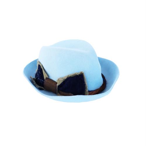 hntbk RRFW1911 fur felt HAT (LIGHT BLUE)