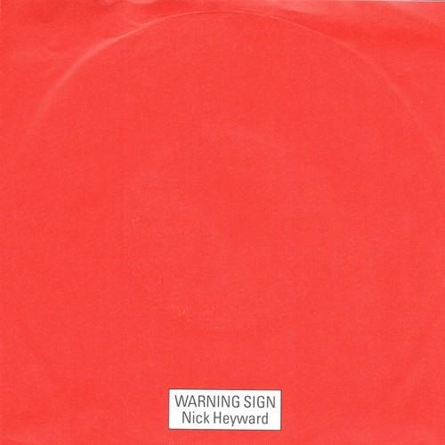 【7inch・独盤】Nick Hayward / Warning Sign