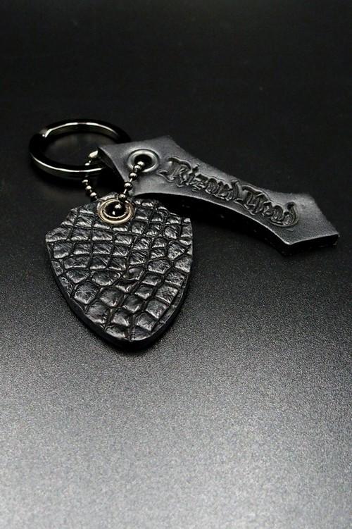 Item No.0321:Key ring/Crocodile/BLACK