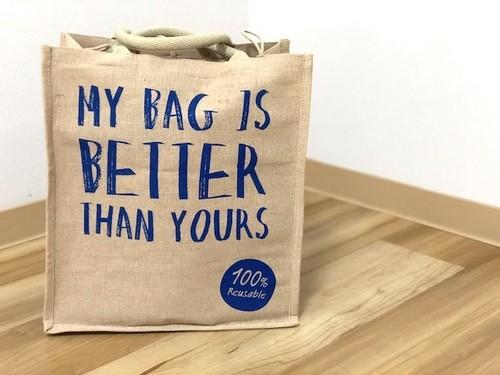Coles shopping bag / ジュートエコバッグ