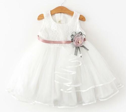 8426子供ドレス キッズ ベビー ジュニア 女の子ドレス フォーマルドレス パーティードレス 赤ちゃん 出産祝い お宮参り 新生児80cm-130cm