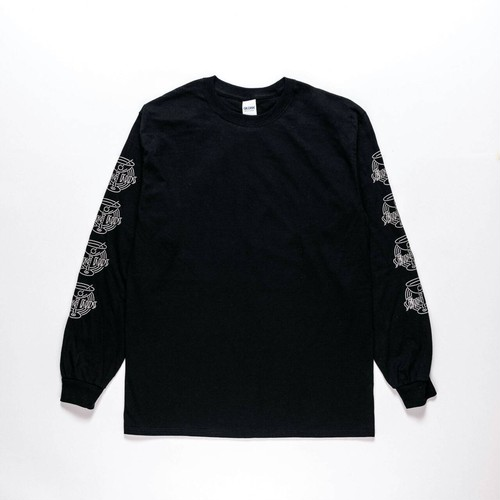 """DANCING IN THE NEON LIGHT"" L/S T-Shirts BLACK"