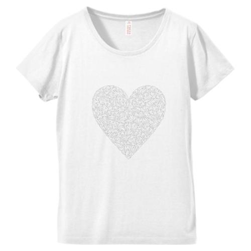 ♡Tシャツ(ホワイト)