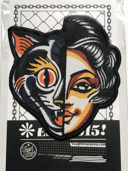 "Toughtimes""CAT/WOMAN PATCH"""