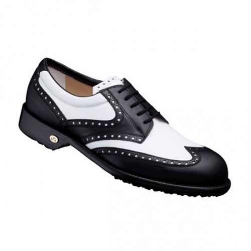 【Men's】 GETBY black-white 27cm