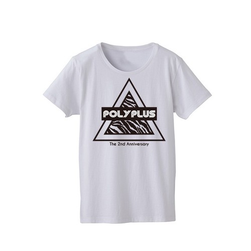 POLYPLUS × mellow POLYPLUS THE 2nd ANNIVERTARY TEE
