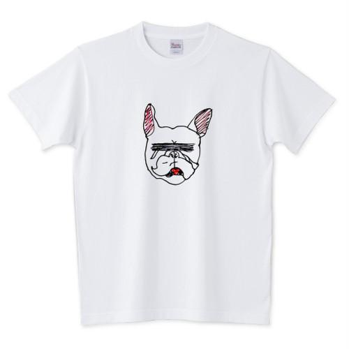 フレンチブルのTシャツ