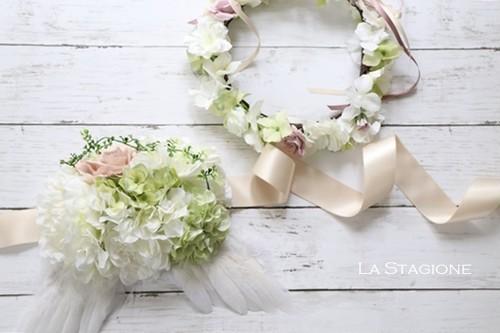 【H様専用】天使のマタニティサッシュベルト&花冠