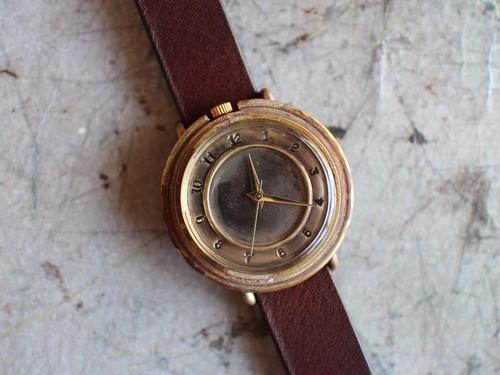 M.T刻印リング付き時計