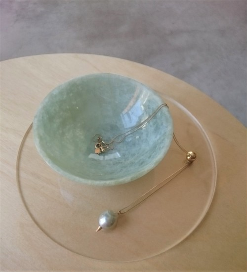 aquamarine bowl