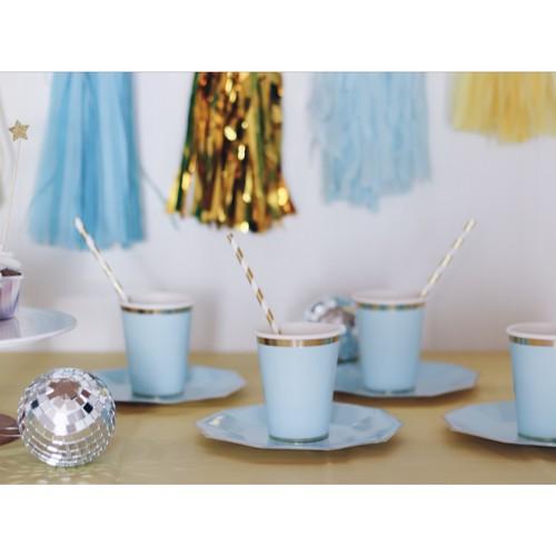 パーティーセット(紙皿・紙コップ/ブルー)