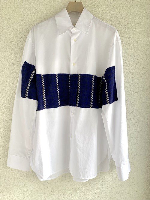 MARNI patch knit shirt