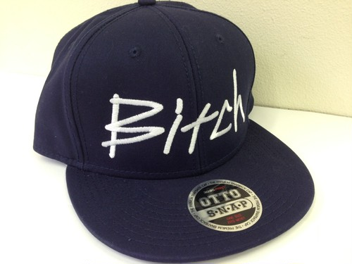 Bitch Cap - Snapback Navy
