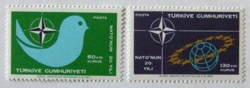 NATO20年 / トルコ 1969