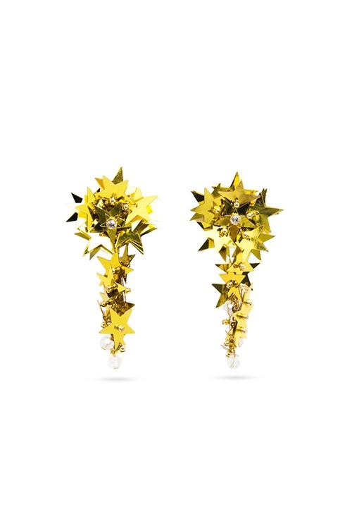 Spangle Star Earrings | GOLD