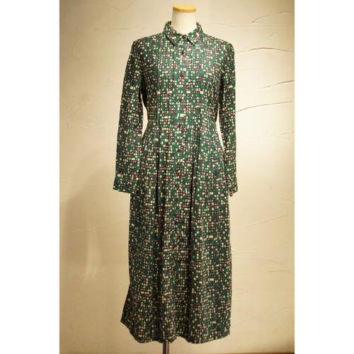 【ピープルツリー】ピンタックシャツドレス194079・194081