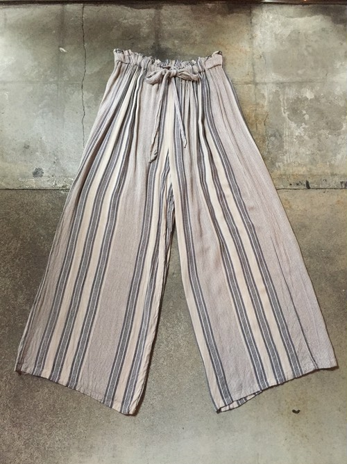 Stripe Easy Pants