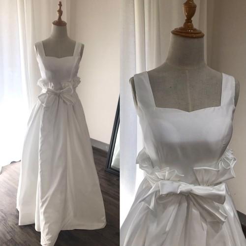 シルキータフタドレス