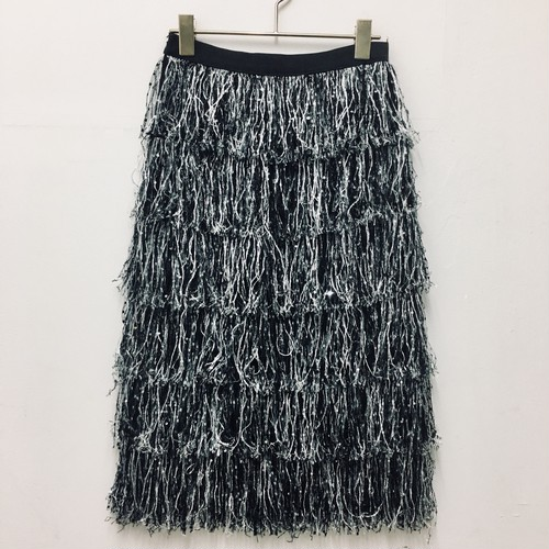 spangle fringe skirt
