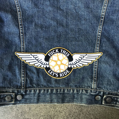 DicE Winged Wheel Patch