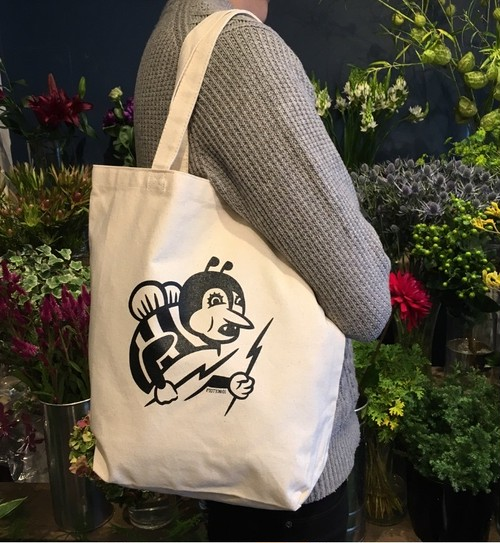 SOLDIER BEE CANVAS TOTE BAG