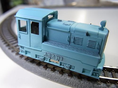 HO-6.5 旭重工内燃機関車 3ピースモデル