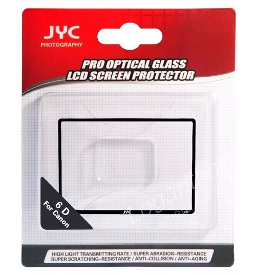 JYC Canon EOS 6D用 強化ガラス製液晶プロテクター C6D