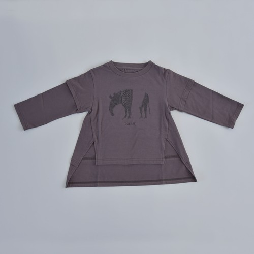 GRIS(グリ) / Layered Print T Shirts / Charcorl / M