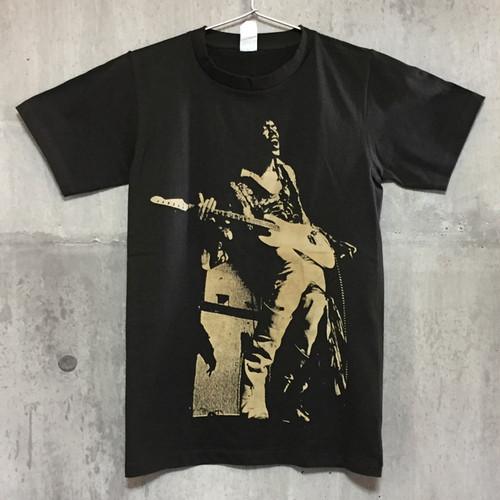 【送料無料 / ロック バンド Tシャツ】 JIMI HENDRIX / Play Standing Men's T-shirts M ジミ・ヘンドリックス / プレイ・スタンディング メンズ Tシャツ M