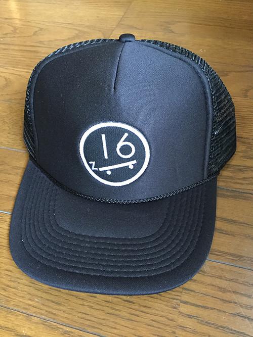 """THE ZOOT16 """"SK8BOARD Logo Wappen"""" Mesh CAP"""