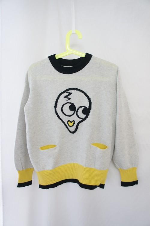 ヨミちゃんジャカードセーター